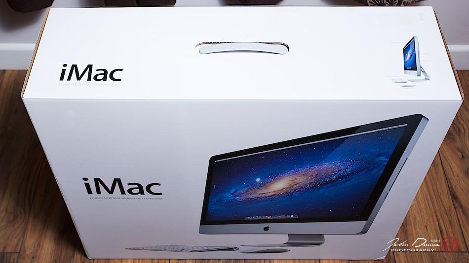 2011 iMac 27-inch Box by John Dunne.