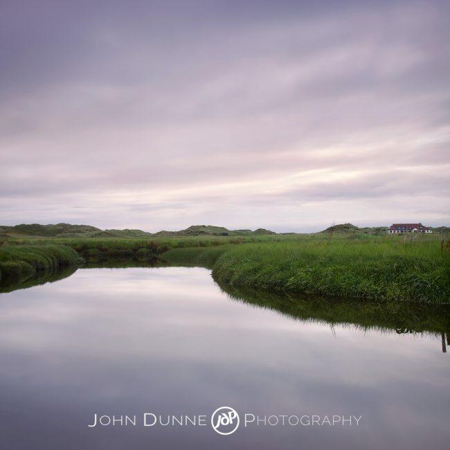 A Quiet Sunset by John Dunne.