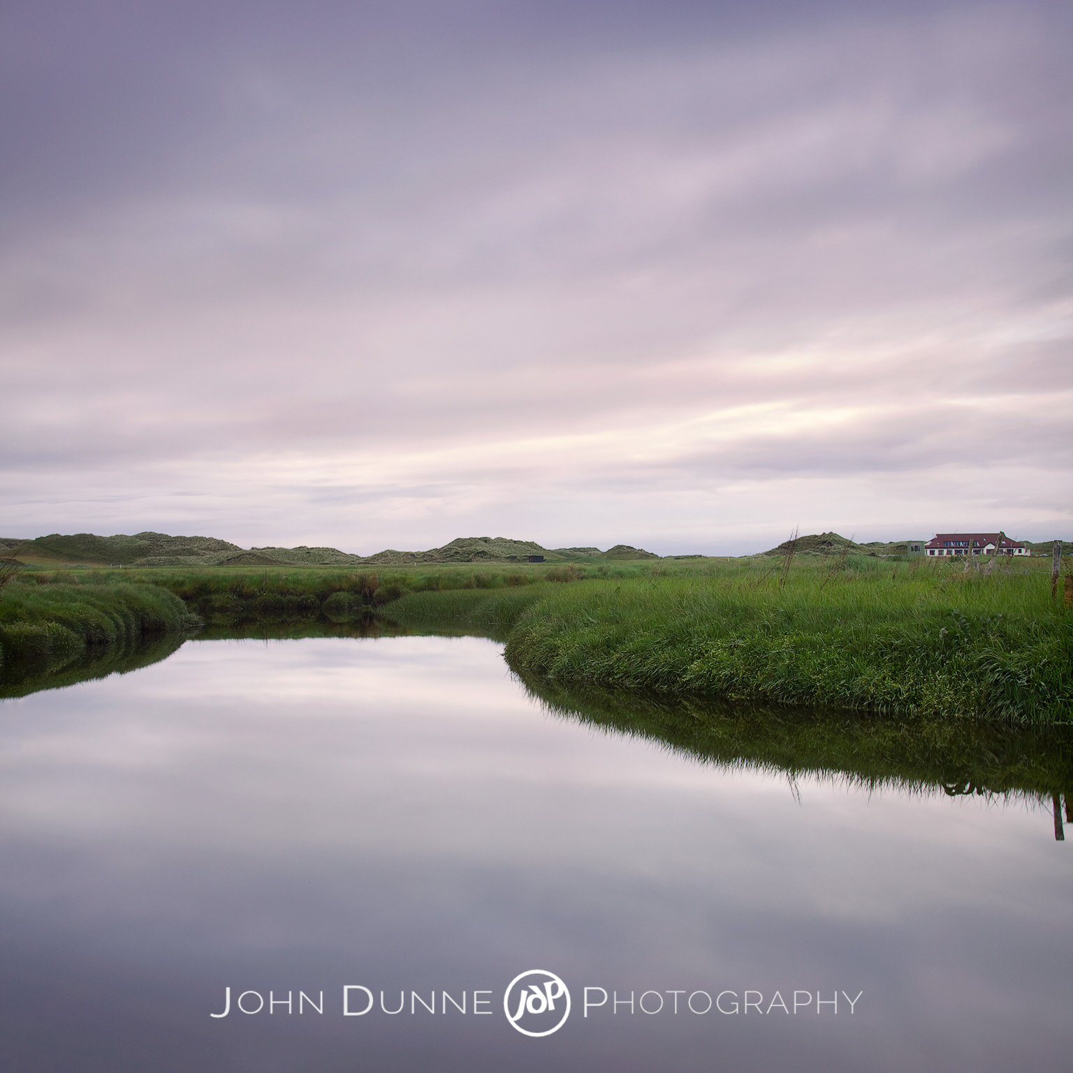 A Quiet Sunset by John Dunne.