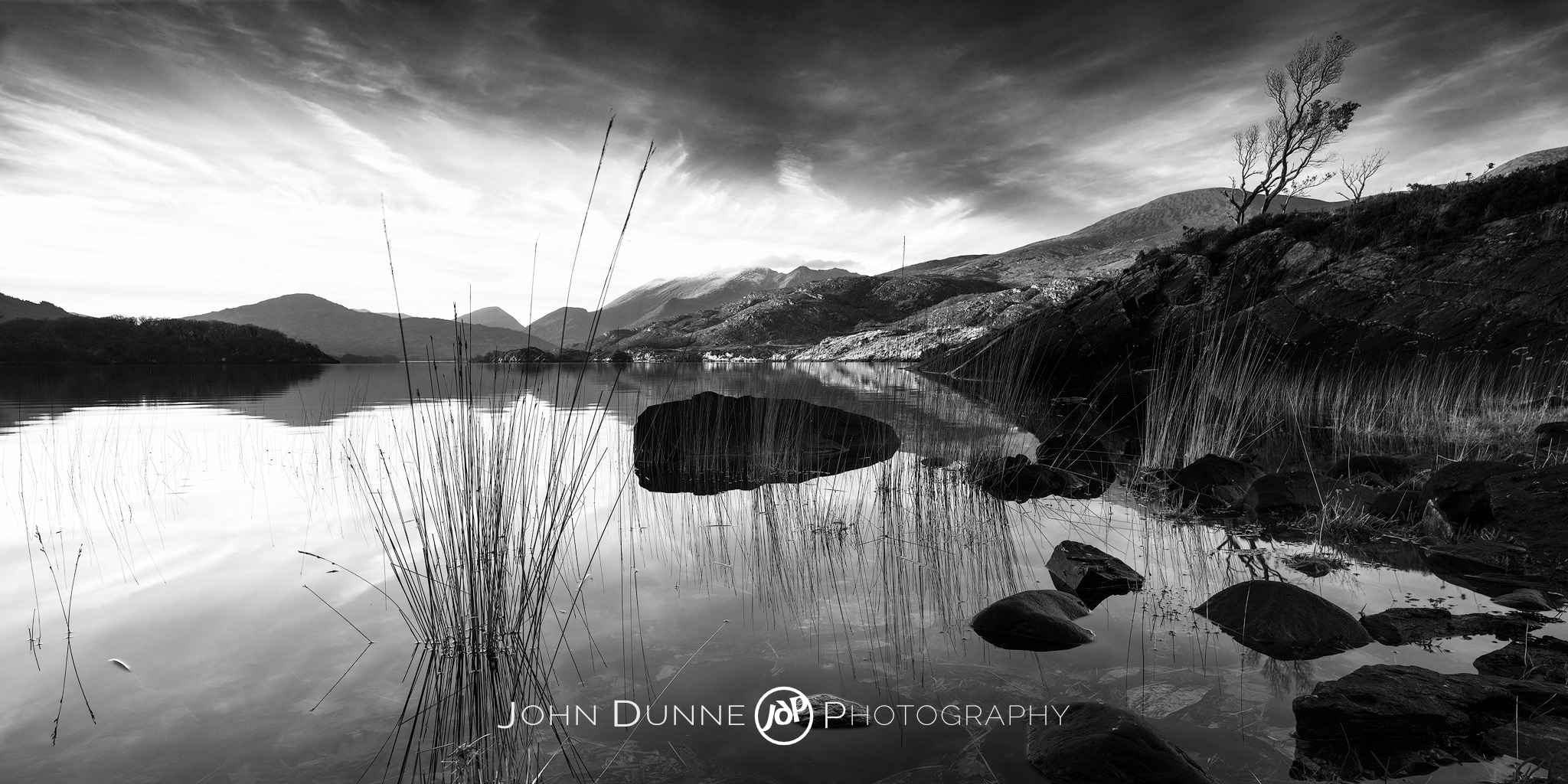 A Tranquil Sunset by © John Dunne 2015, all rights reserved.