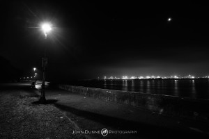 Clontarf Promenade by Night by John Dunne.