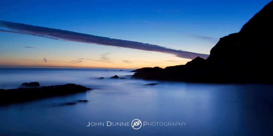 First Light on Bray Head by John Dunne.