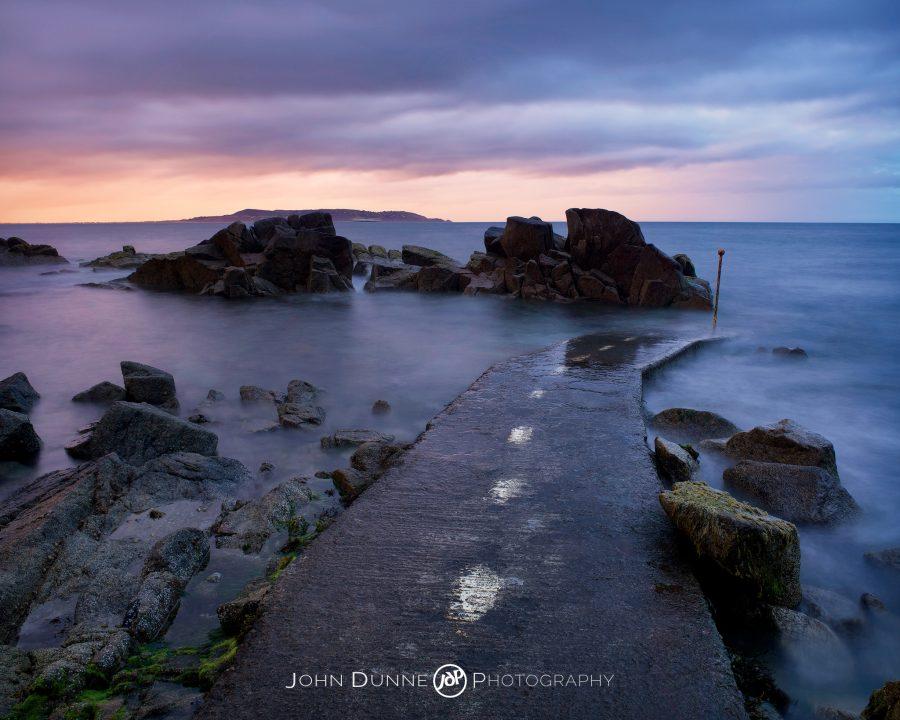 Last Light at Sandycove by John Dunne.