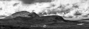 Mount Errigal Panoramic by John Dunne.