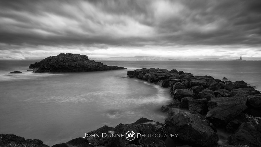 Offering Shelter - Storm, Dark, Sea by © John Dunne 2014, all rights reserved.