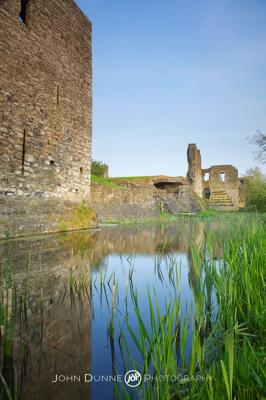 Reflections of Ancient Walls by John Dunne.