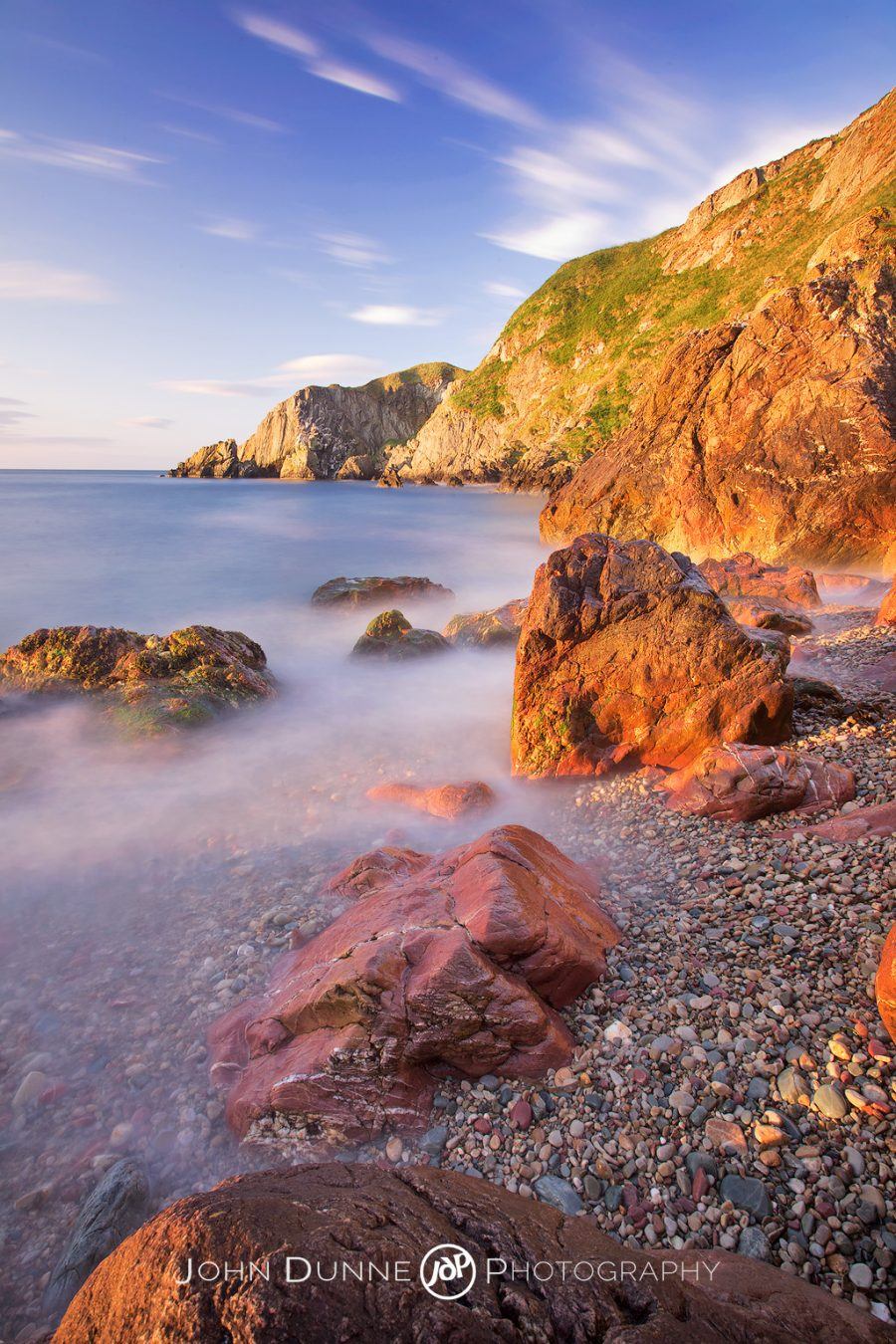 Sunrise upon the Rocks by John Dunne.