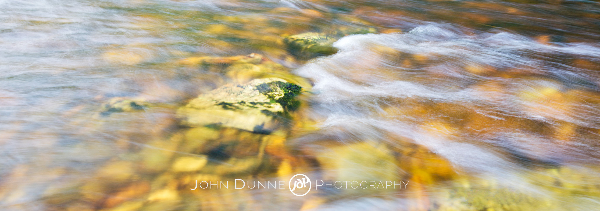 Water Abstract #1 by John Dunne.