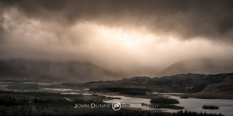 Storm over Tawnyard Lough by © John Dunne 2016, all rights reserved.