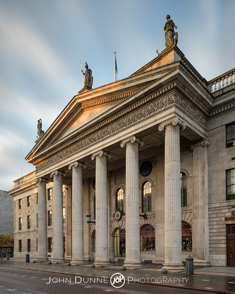 General Post Office Dublin (GPO) by © John Dunne 2014, all rights reserved..