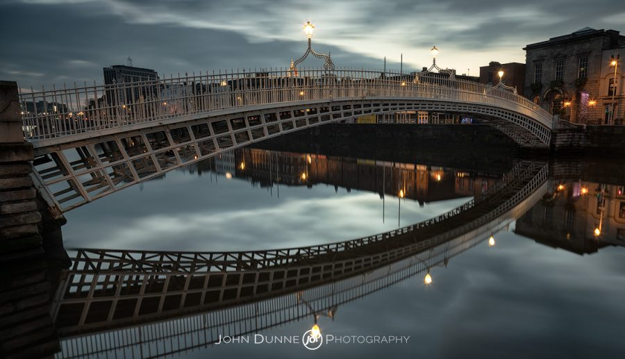 Ha'penny Bridge 01 by © John Dunne 2014, all rights reserved..