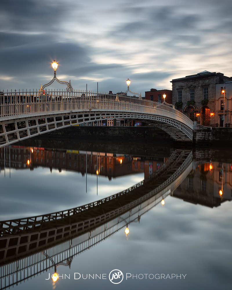 Ha'penny Bridge 02 by © John Dunne 2014, all rights reserved..