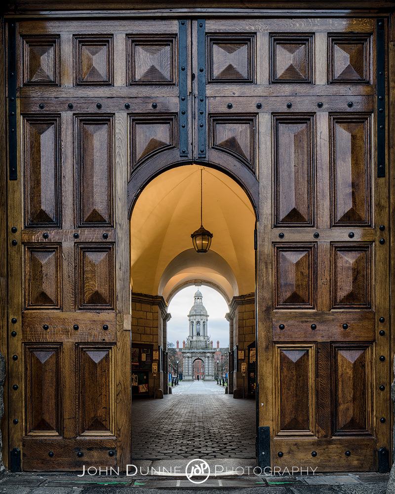 Trinity College Door by © John Dunne 2015, all rights reserved.