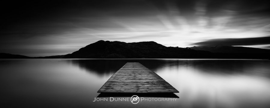 Lough Caragh at Sunset #1 by © John Dunne 2016, all rights reserved.