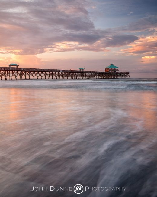 Sunrise at Folly Beach #1 by © John Dunne 2016, all rights reserved.