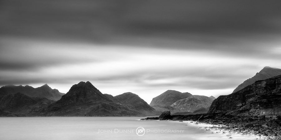 Sunset over the Cuillin Hills #1 by © John Dunne 2017, all rights reserved.