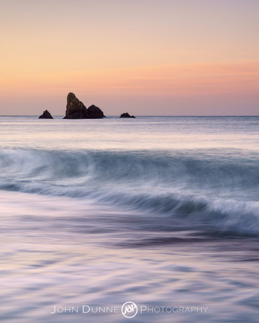 Benvoy Cove at Sunrise #1 by © John Dunne 2017, all rights reserved.