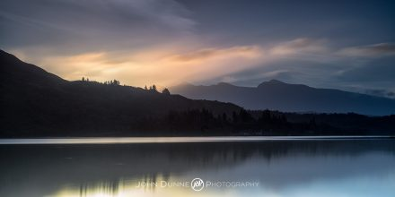 Lough Caragh at Sunrise #1 by © John Dunne 2017, all rights reserved.