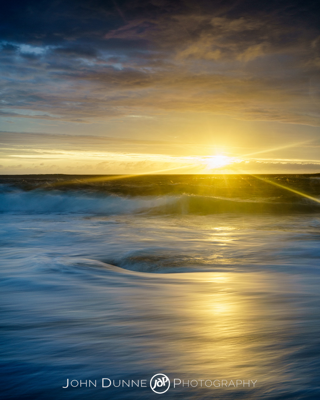 Sunset at Boyeeghter Bay #1 by John Dunne Photography.